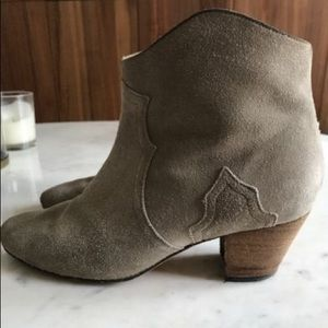 Isabel Marant Dicker Ankle Boot in size 38